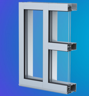 YES 45 TU Thermally Broken Front Set Commercial Storefront System