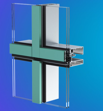 YUW 750 XT Unitized Wall System with Superior Performance