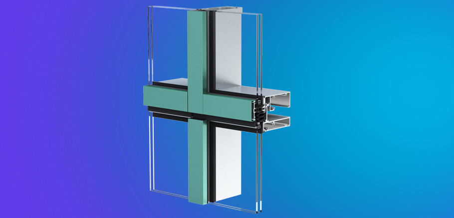 Yuw 750 xt ykk ap aluminum curtain wall products for Superior wall system