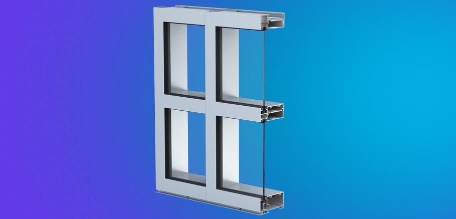 Yww 45 Fs Ykk Ap Window Wall Building Products