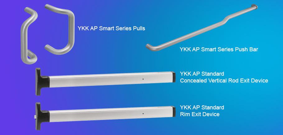 20d 35d 50d Ykk Ap Standard Commercial Entrances