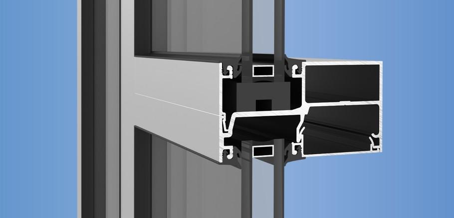 YCN 40 - Front Loaded Ribbon Window Wall