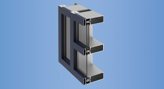 YCW 750 OG - YKK AP Aluminum Curtain Wall Building Product