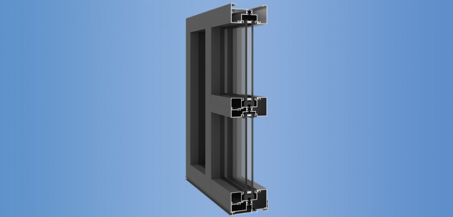 YES 45 FT - Thermally Broken Commercial Storefront System