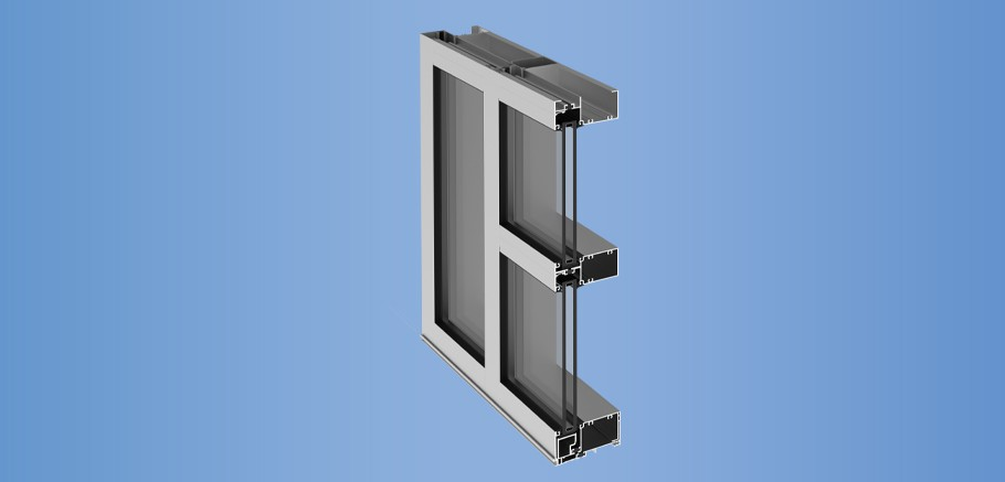 YES 45 TU - Front Set Thermally Broken Commercial Storefront System