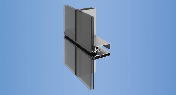 YUW 750 XT - YKK AP Aluminum Curtain Wall Products