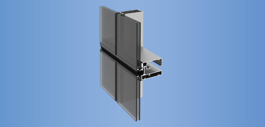 YUW 750 XT - Unitized Wall System with Superior Thermal Performance