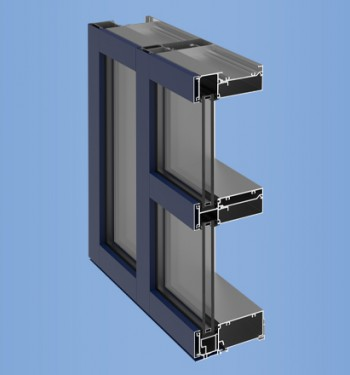 YWE 60 T - Thermally Improved, High Performance Window Wall System