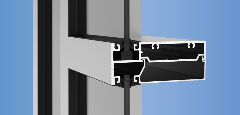 YWW 45 FS - High Performance, Flush Glazed Window Wall System