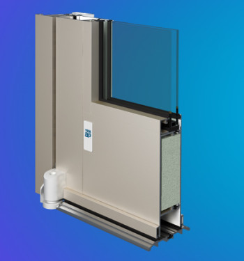 MegaTherm® 35/50 XT Advanced Thermal Commercial Swing Door