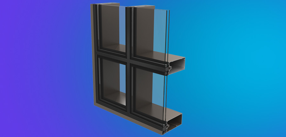 Structurally Glazed Curtain Wall : Ycw ssg ykk ap aluminum curtain wall products