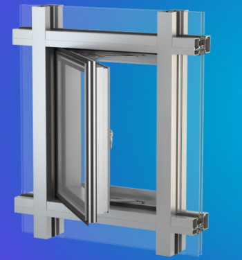 YES SSG TU Vent Thermally Broken Vent Window for Storefront, Window Wall and Curtain Wall