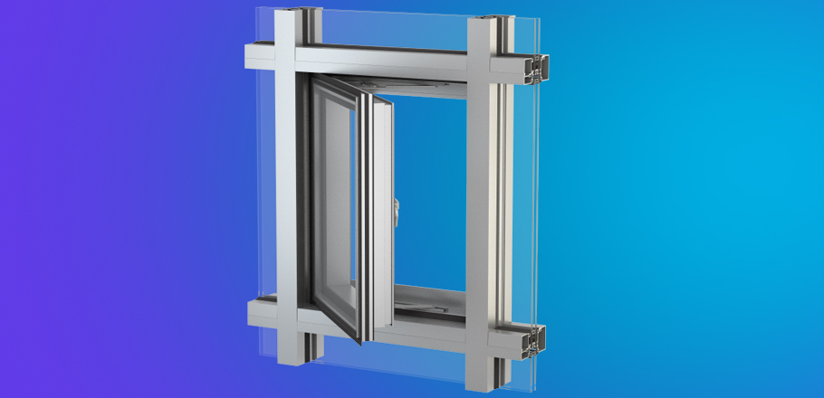 Yes Ssg Tu Vent Ykk Ap Aluminum Window Products