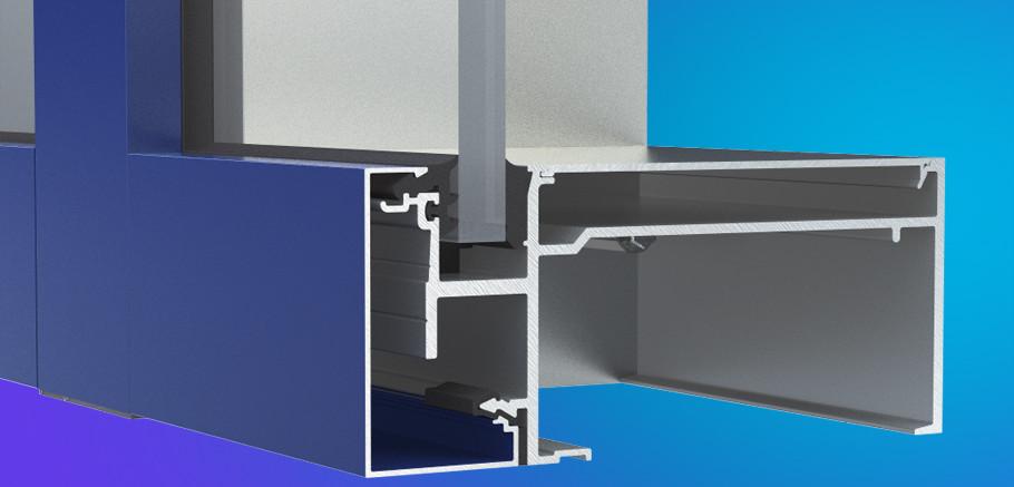 Inner Curtain Wall : Yhc ig ykk ap aluminum curtain wall products