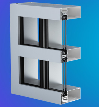 YHC 300 SSG Impact Resistant and Blast Mitigating Structural Silicone Glazed Curtain Wall System