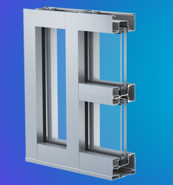 YHS 50 FI Impact Resistant and Blast Mitigation Storefront System for Insulating Glass