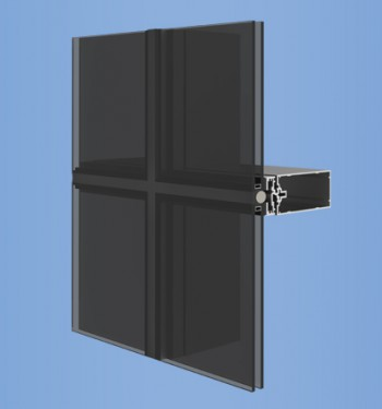 YCW 750 SSG - Two and Four-Sided Silicone Glazed Curtain Wall System