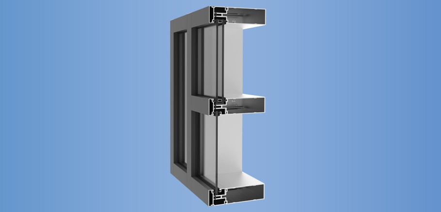 YCW 752 - Outside Glazed Pressure Wall System