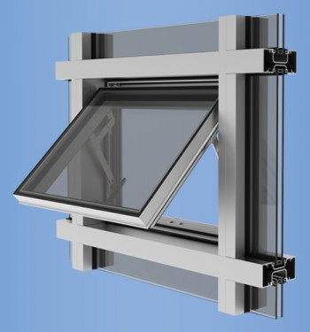 YES SSG Vent - Vent Window for Storefront, Window Wall, and Curtain Wall