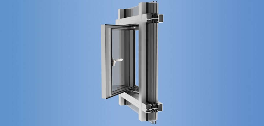 YES SSG TU Vent - Thermally Broken Vent Window for Storefront, Window Wall and Curtain Wall