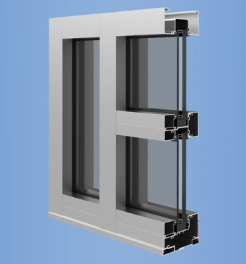 YHS 50 FI - Impact Resistant and Blast Mitigation Storefront System for Insulating Glass