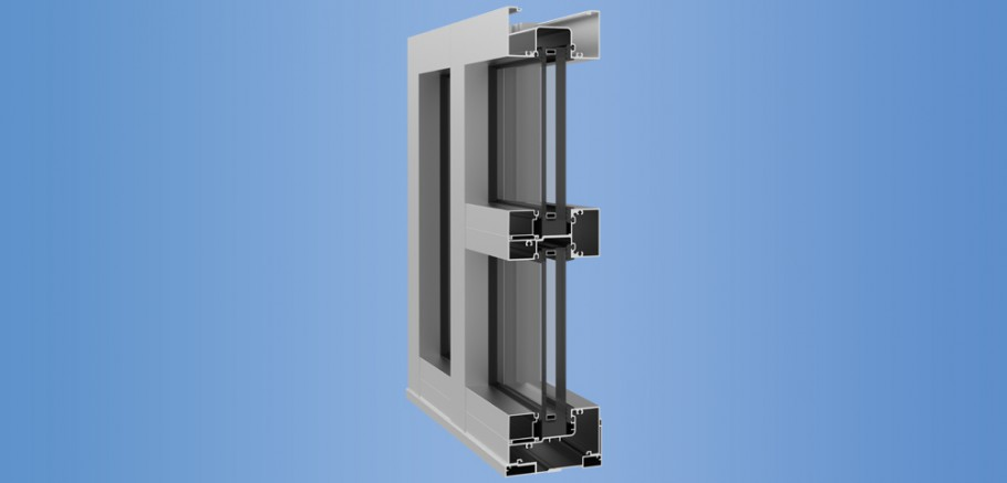 YHS 50 FI - Impact Resistant and Blast Mitigating Storefront System for Insulating Glass