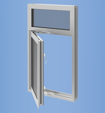 YOW 225 TUH - Thermally Broken, Impact Resistant and Blast Mitigating Operable Window