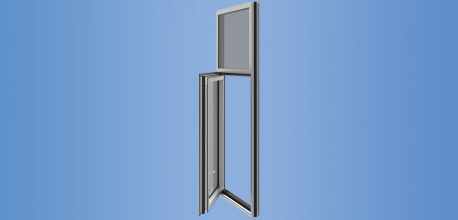 YOW 350 XT - Thermally Broken Operable Window System for Insulating Glass