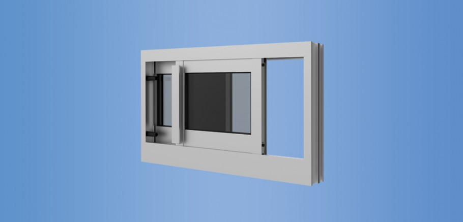 YSW 400 T - Thermally Broken Sliding Window for Monolithic and Insulating Glass