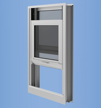 YVS 400 TU - Thermally Broken Hung Window for Monolithic & Insulating Glass
