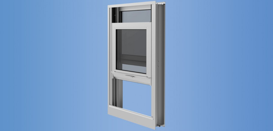YVS 410 TU - Thermally Broken Side Loading Hung Window for Monolithic and Insulating Glass