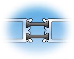 YKK AP's Megatherm® aluminum framing system