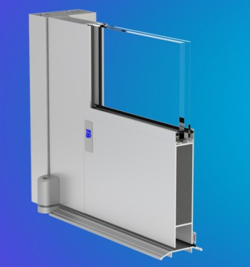 Model 50HL YKK AP's ProTek® Wide Stile Impact Resistant Entrances