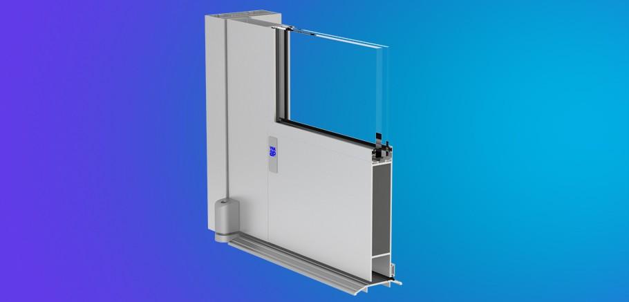 Model 50HL YKK AP's ProTek® Wide Stile Impact Resistant Entrances
