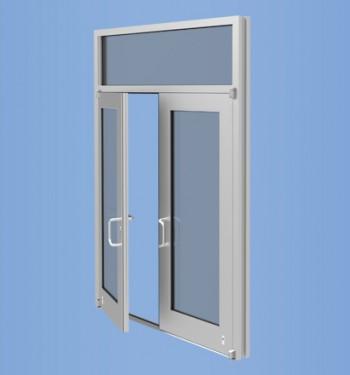 Model 50HL - Impact Resistant Wide Stile Low Pressure Entrance