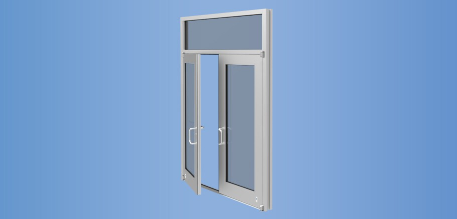 Model 50HL - Impact Resistant Wide Stile Low Pressure Entrance