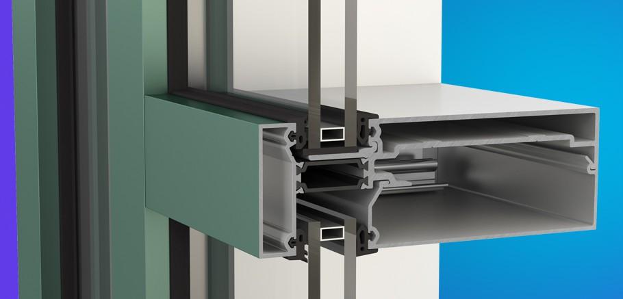 YCW 750 XT IG Inside Glazed High Performance Curtain Wall System