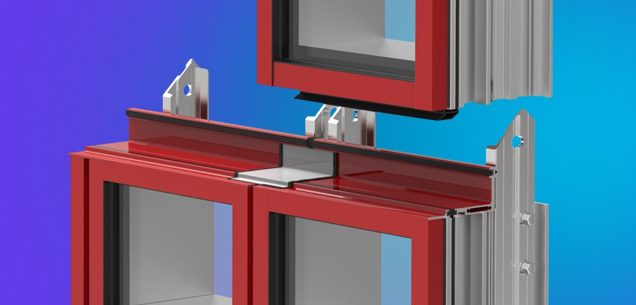 Curtain Wall Assembly : Ycu tu energy efficient unitized curtain wall system