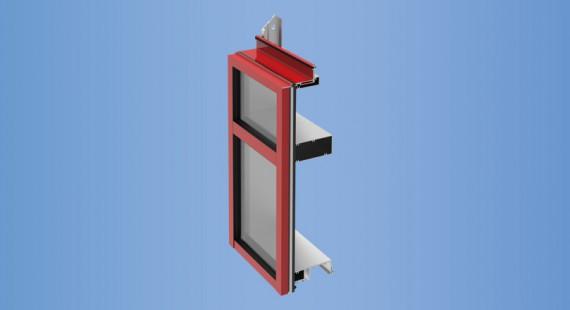 YCU 750 TU Energy Efficient Unitized Curtain Wall System
