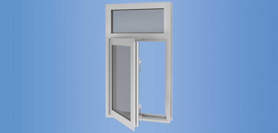 YOW 350 TUH - Thermally Broken and Impact Resistant Operable Window System for Insulating Glass