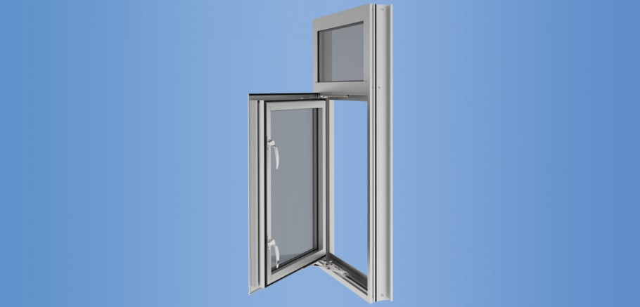 YOW 350 TU - Thermally Broken Large Operable Window System for Insulating Glass