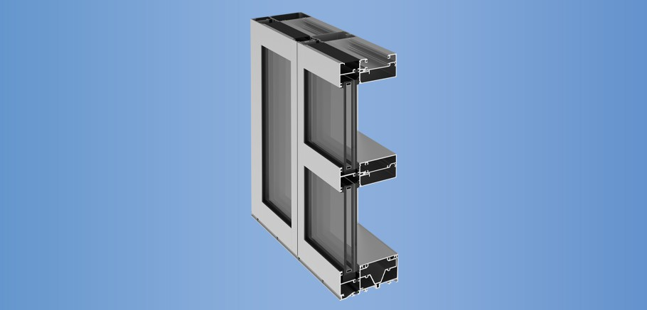 YHW 60 TU - Pre-Glazed, Thermally Broken, Hurricane Impact Window Wall System