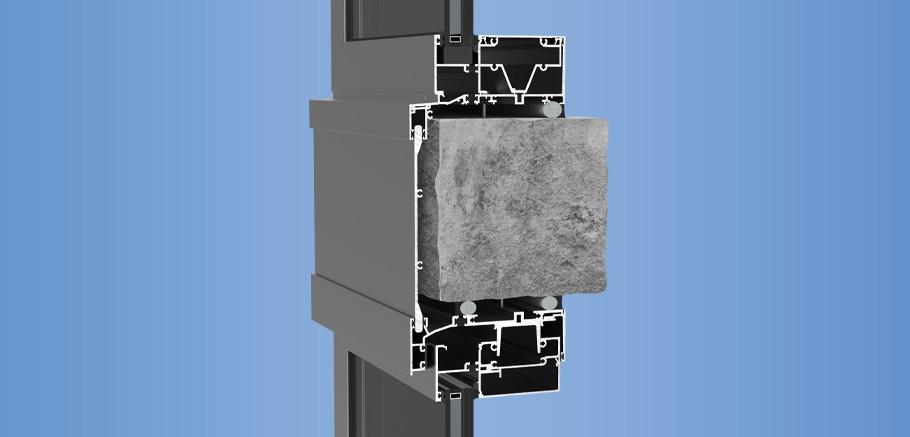 YHW 60 TU - Pre-Glazed, Thermally Broken, Hurricane Impact Window Wall System