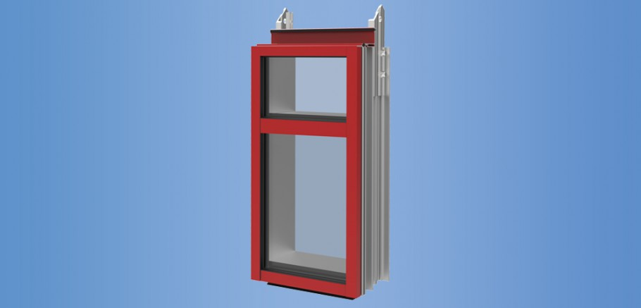 YCU 750 TU - Thermally Broken Unitized Curtain Wall System