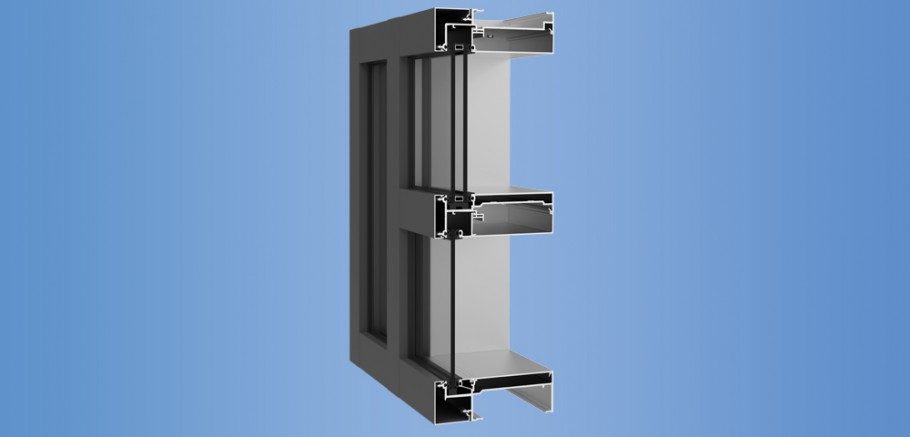 Inner Curtain Wall : Ycw ig ykk ap aluminum curtain wall building products