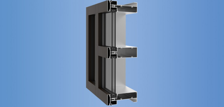 YCW 750 SplineTech® - Outside Glazed Screw Spline Curtain Wall System