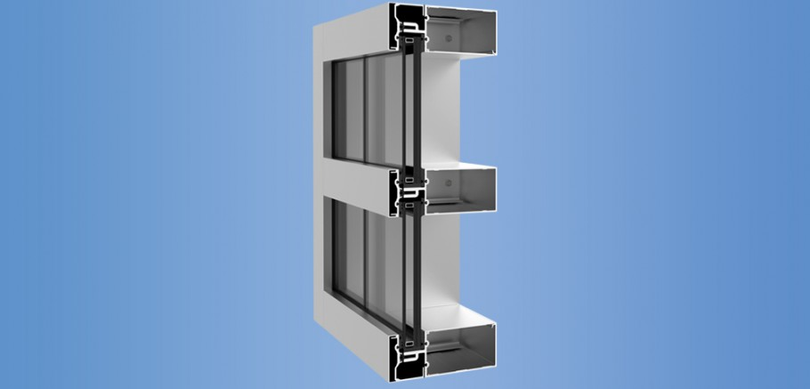 YHC 300 SSG - Impact Resistant and Blast Mitigating, Structural Silicone Glazed Curtain Wall System