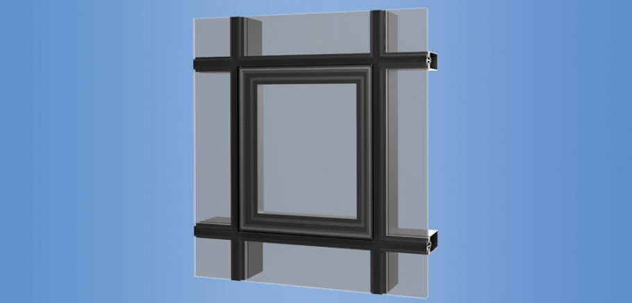 YOV SSG - Operable Vent for Structural Silicone Glazed Curtain Wall