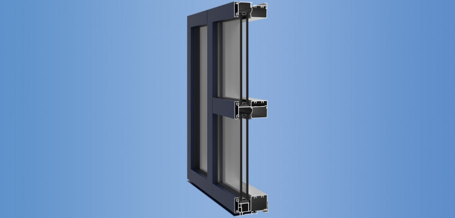 YWE 40 T - Thermally Improved Front Loading Window Wall System