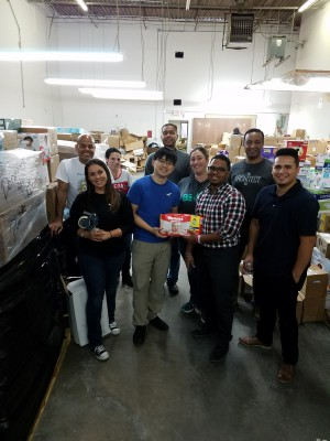 YKK AP Employees Gather Aid for Puerto Rico